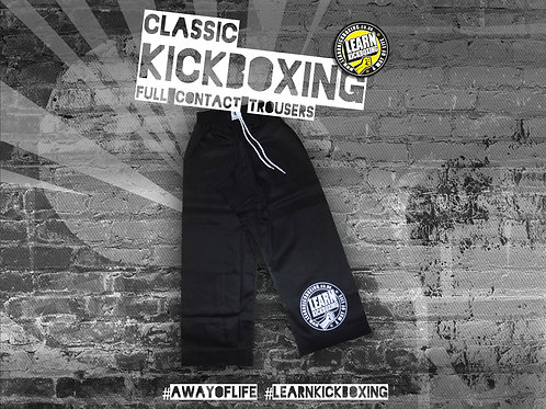 Classic Kickboxing Trousers (Adult)