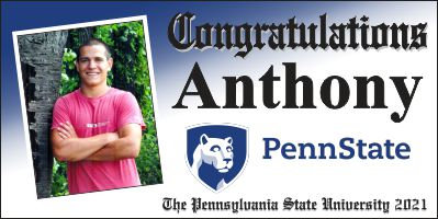 Penn State Diploma Style 2x4 Banner