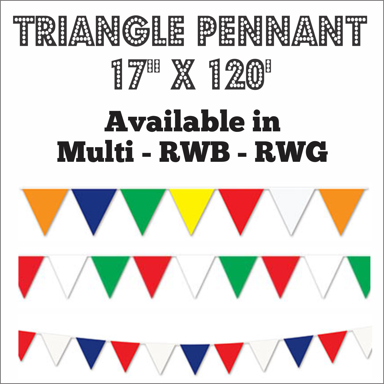triangle pennant