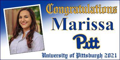 Pitt Diploma Style 2x4 Banner