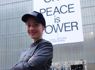 "YOKO ONO ""Peace is Power"""