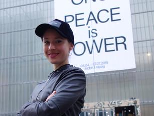 "YOKO ONO ""Peace is Power"""