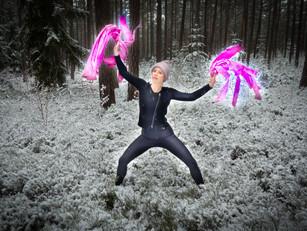 Tanzen für die Heidelbeeren