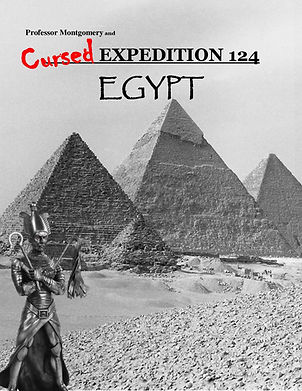 Egypt is said to hold many legends and curses, this is your chance to be part of one.