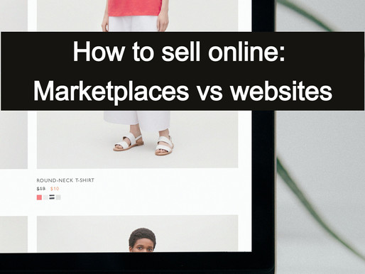 How to sell online: build a website or sell through large marketplaces?