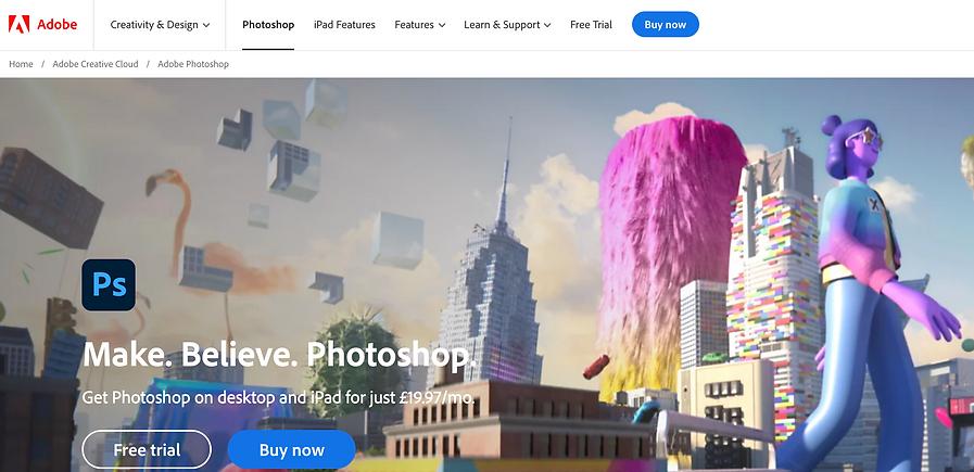 photoshop review -luca tagliaferro
