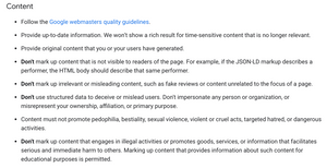 review rich snippet guidelines - luca tagliaferro