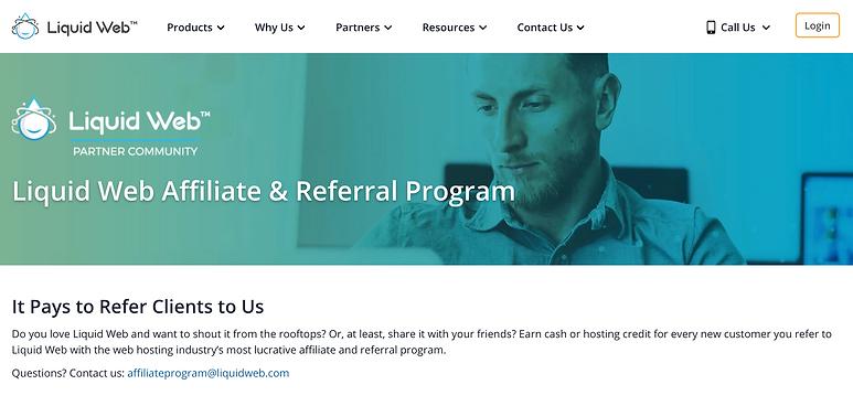 liquid web affiliate review