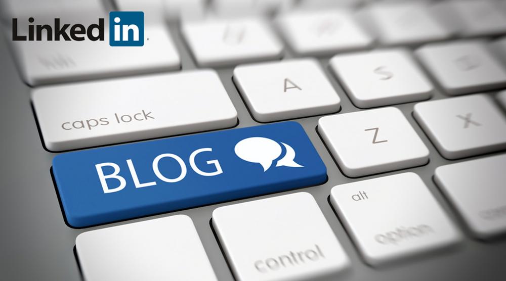 LinkedIn blogging - Luca Tagliaferro