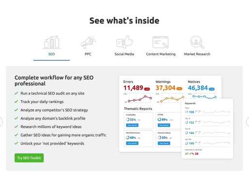 SEMRush: What to know before using it