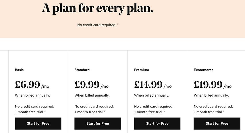 godaddy website builder pricing.png