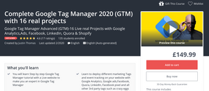 udemy gtm course
