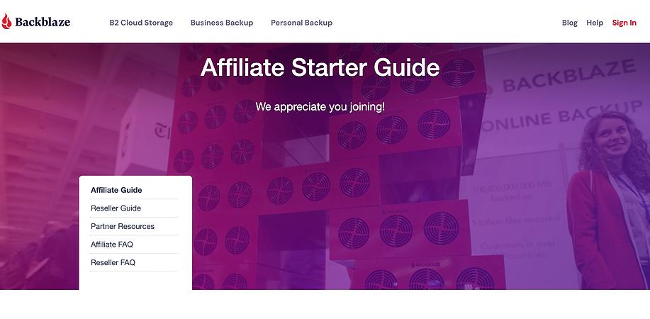 backblaze affiliates
