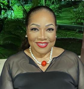 Mrs. Cyndi Williams Rahming, Dip. C, B.Sc, MBA, JP Chairman Emerita (Delta Sigma Theta Sorority, Inc.)