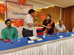 Recognition by JSG Calicut Chanmber
