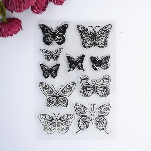 "Clearstamps Nr. 31 ""Schmetterlinge"""