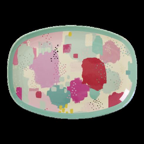 Wunderschöne Platte - Farben Splash