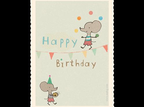 Kleine Geburtstagskarte von Maileg
