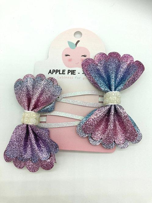 2er Set Haarspängeli von Apple Pie - Meerjungfrau