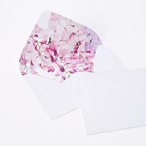 1 Briefumschlag Mit Japanischem Muster