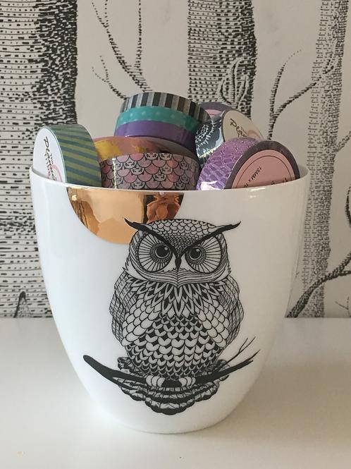 Geschenkset 1 - Keramikgefäss mit 10 Washitapes