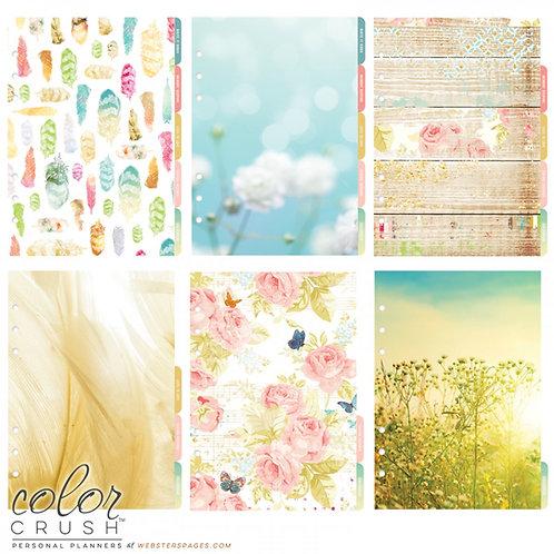 A5 Divider Kit (Blumen) - 6 Blatt