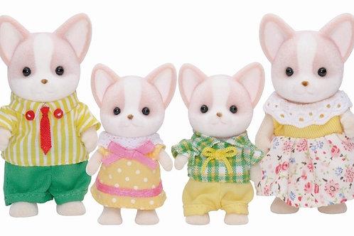 4er Set - Chihuahua Hunde Familie