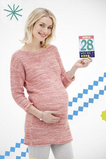 Schwangerschafts Milestone Karten - deutsch