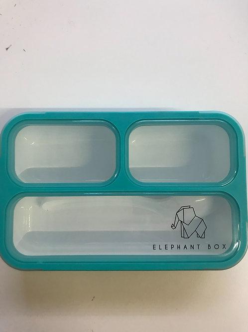 10VE - Elephant Box mit Löffel - BPA Freie Znünibox