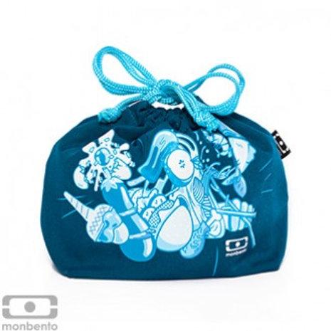 Tasche für die Bentobox  - blau