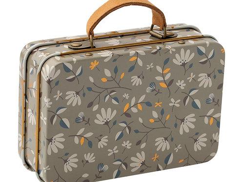 Koffer mit Blümchenprint - Vintage