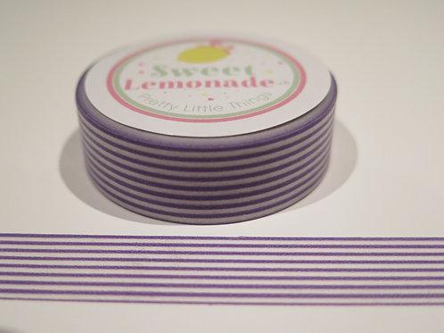 Masking Tape - lila feine Streifen