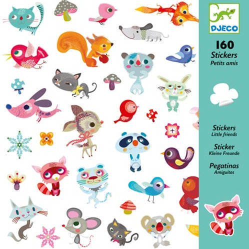 Sticker-Set - 160 Sticker - Kleine Freunde