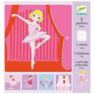 Schablonen - Ballett