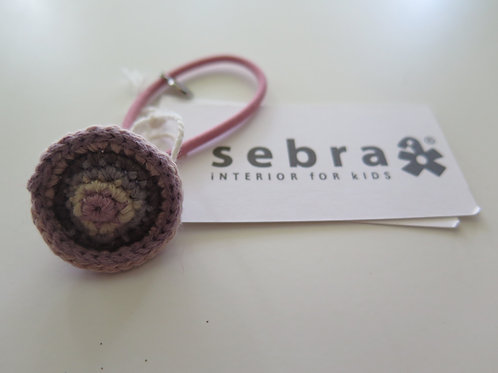 Häkel-Haargummi von SEBRA
