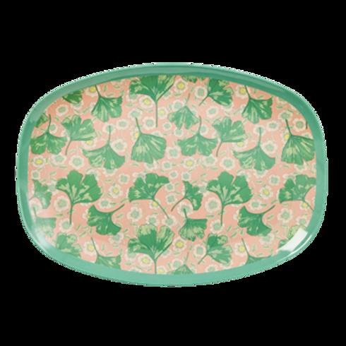 Wunderschöne Platte -Grüne Blätter