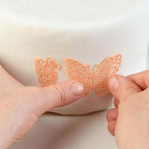 Silikonmatte für Tortendeko-  Schmetterling