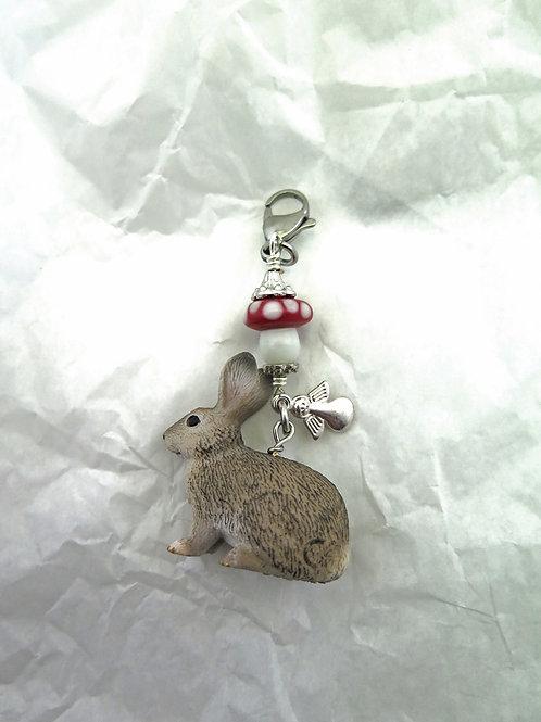 Schlüsselanhänger / Kettenanhänger Hase