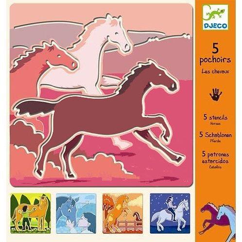 Schablonen - Pferde