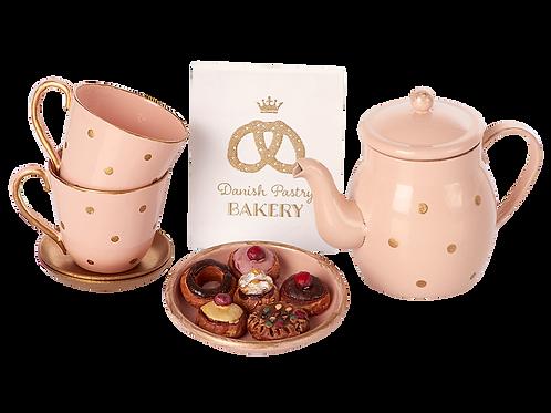 Tee und Guetzli-Set im Stoffsack