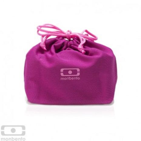 Tasche für die Bentobox  - dunkles pink