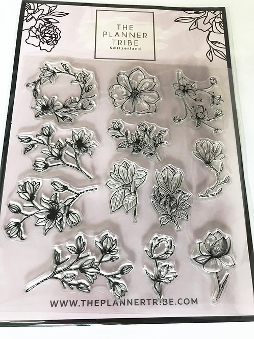 Clearstamps von THE PLANNER TRIBE - Magnolia