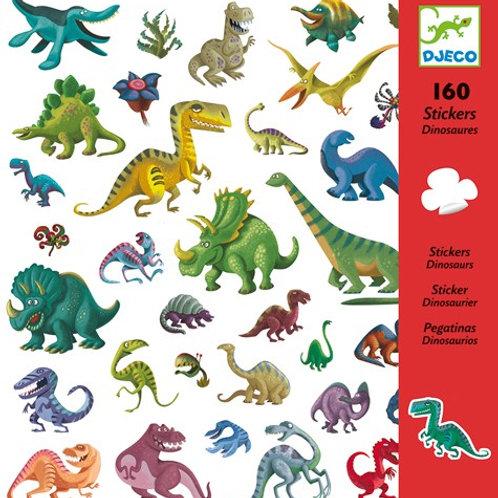 Sticker-Set - 160 Sticker - Dinosaurier