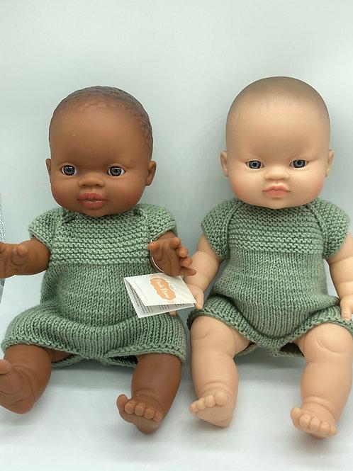 Puppen Junge von Paola Reina inkl. handgemachtem Outfit