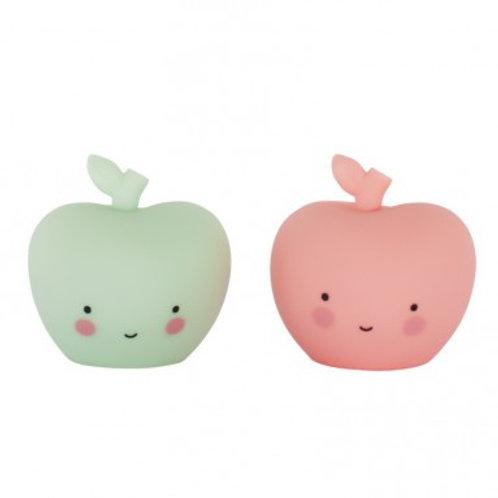 2er Set Dekoäpfelchen - rosa und mint