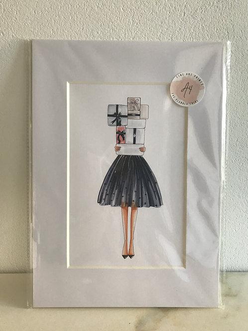 Fine Art Print - Kunstprint im Gallerie-Passepartout