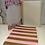 Thumbnail: Spiral Notizbuch - gold/rosa gestreift 110 Seiten