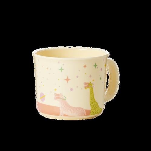 Tasse mit Henkel - Tiere Mädchen