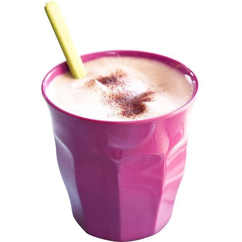 Grosser Melaminbecher von RICE - pink