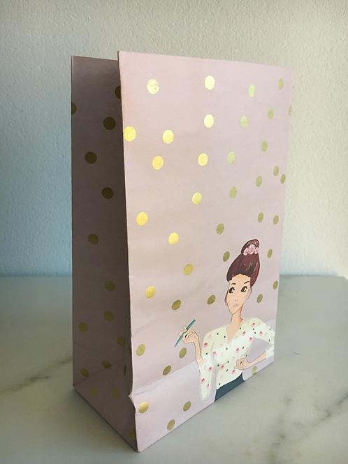 1 hochwertige Geschenktüte - Planner Girl- 1 Stk